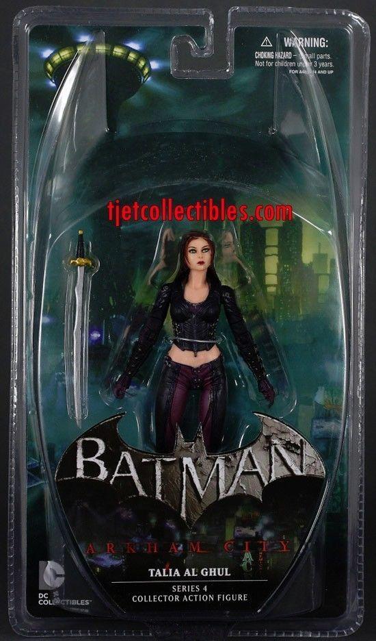 Talia Al Ghul Batman Arkham City Series 4 Action Figure MIP DC Collectibles 2013 #DCComics