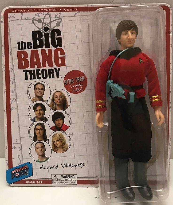 The Angry Spider has the best toys: TAS037810 - 2014 ...  Take a look: http://theangryspider.com/products/tas037810-2014-the-big-bang-theory-star-trek-howard-wolowitz?utm_campaign=social_autopilot&utm_source=pin&utm_medium=pin