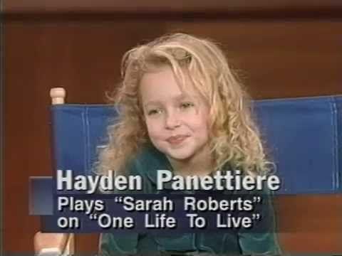 Hayden Panettiere interview 1995. Age 6 - YouTube