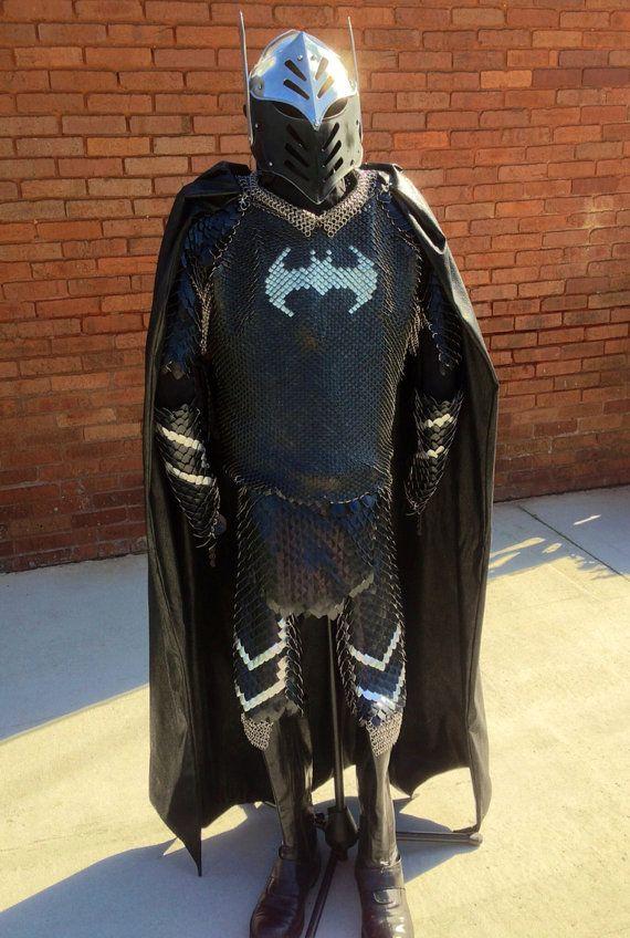 cotte de maille batman 2   cotte de maille Batman   photo image Dark Knight Rises cotte de maille cosplay Batman
