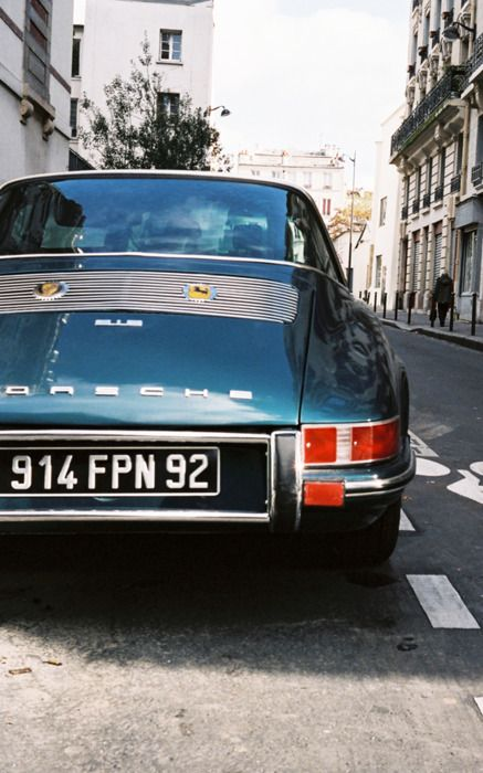 Porsche 912 photgraphed in Paris, France - December 2010. This 912 was manufactured by Porsche of Germany between 1965 and 1969 as their entry-level model. The 912 is a nimble-handling compact performance four-seat vehicle, delivering 67 KW at 5800 rpm. It is capable of up to 7.8 litres / 100 klm