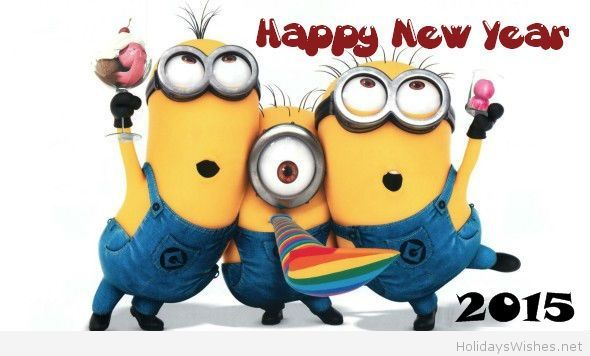 happy new year 2015 images for facebook google search minions pinterest funny minion silly quotes and minion s