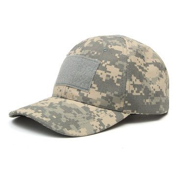 Only US$4.29, buy best IPRee™ Camping Tactical Camouflage Sunhat Adjustable Travel Sunscreen Baseball Cap  sale online store at wholesale price.US/EU warehouse.