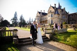 Exclusive Weddings on the Orchardleigh Estate - only 10 miles from Bath.