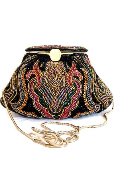 "Vintage LaRegale Beaded Bags | ""Boogie Nights"" by Embellishgirl......I would love this!"
