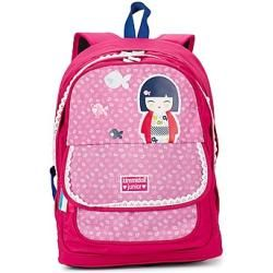 Mochila Dessins Animes cor-de-rosa