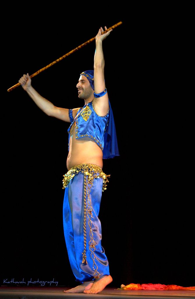 Jamil- Male Bellydancer -Sydney.. | Flickr - Photo Sharing! | Blue Belly Dance Costumes ...