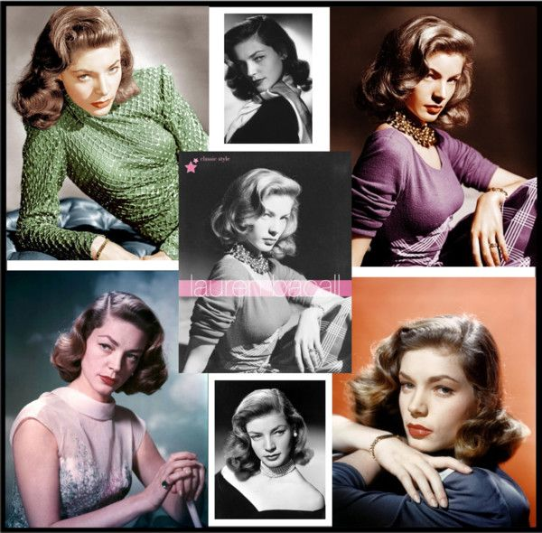 """Lauren Bacall 1924-2014 ~ A Class Act"" by hastypudding on Polyvore"