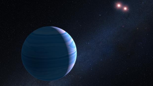 """Mediante la técnica de microlente gravitacional, el telescopio de la NASA """"Hubble"""" ha podido"""