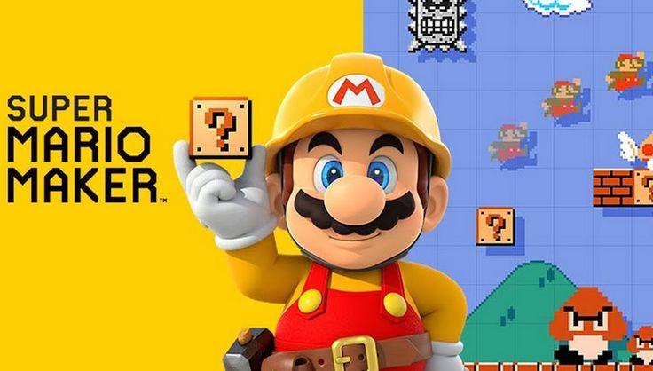 Super Mario Maker. Nintendo. Mario. Super Mario. Mario Maker.  Pt-br Por...