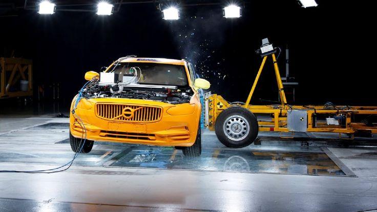 2017 Volvo V90 Cross Country Crash Tests