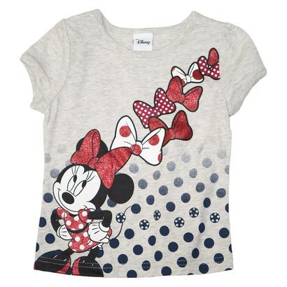 Disney® Minnie Mouse Infant Toddler Girls' Short Sleeve Tee