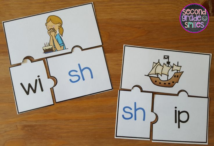 Hands-on digraph activities designed to help your students practice segmenting and spelling words with beginning and ending digraphs th, sh, ch, and wh. Perfect word work center activities in first grade and second grade! $