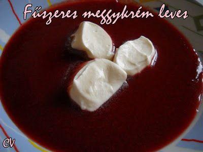 Házias konyha: Fűszeres meggykrém leves