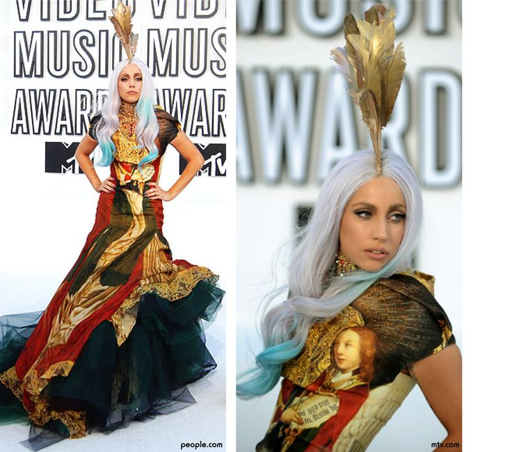 Gaga uses own Alexander McQueen dress on AHS! - Movies &- TV - Gaga ...