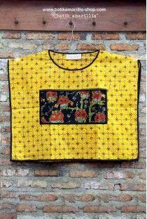 batik amarillis's boxy blouse 3