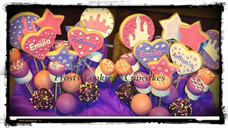 Mix de galletas, popcakes y marshmallows!!!