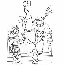 top 25 free printable ninja turtles coloring pages online  ninja turtle coloring pages turtle