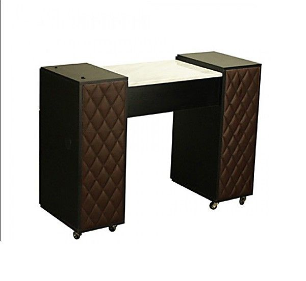 $350 Le Beau Manicure Table Chocolate B ,  Https://www.regalnailstore.com/shop/le Beau Manicure Table Chocolate B/ ,  Get Quality Nail Salon Furniture At The ...