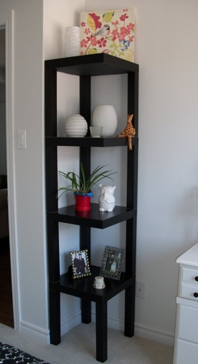 Ikea Hackers - LACK side table stack up Love this idea!