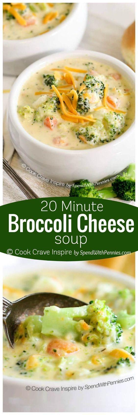 100+ Broccoli Soup Recipes on Pinterest | Cream Of Broccoli Soup, Soup ...