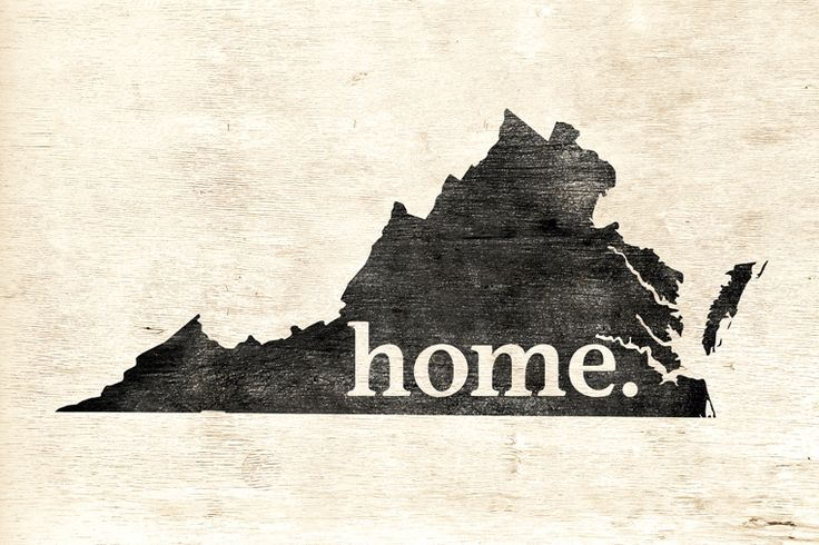 Keep Calm Collection - Virginia Home Poster Print (http://www.keepcalmcollection.com/virginia-home-poster-print/)