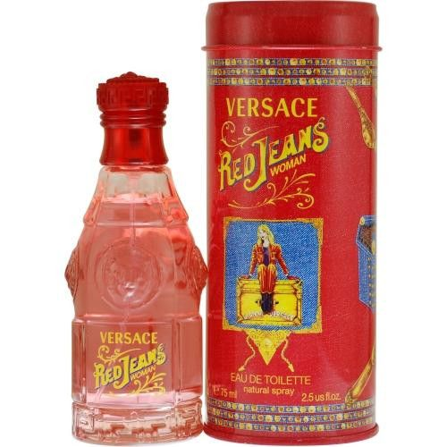 Red Jeans By Gianni Versace Edt Spray 2.5 Oz (new Packaging)