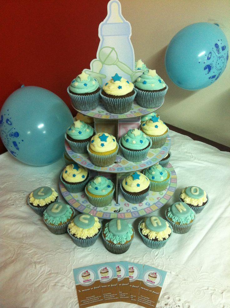 Delishus Cupcakes Babyshower Luciano