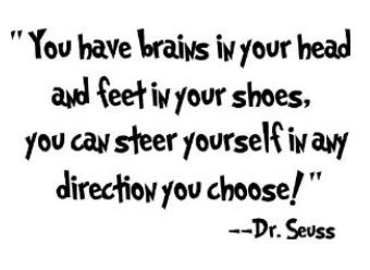 quotes+from+novels | Best Dr Seuss Wall Decals, Stickers and Quotes for Kids