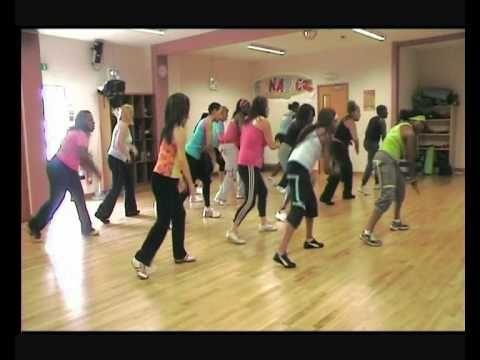 Zumba Hip Hop Eve shake your tamborine