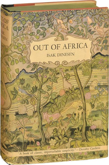 Out of Africa by Isak Dinesen (First American Edition) from Royal Books. ~~~