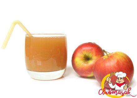 Resep Hidangan Buah Jus Sari Apel, Minuman Sehat Untuk Diet, Club Masak
