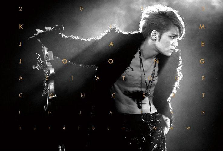 KIM JAE JOONG JYJ - 2013 1st Album Asia Tour Concert in Japan DVD