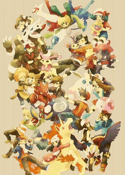 Pokemon Special Characters