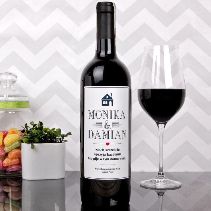 Personalizowane Czerwone Wino DOMEK