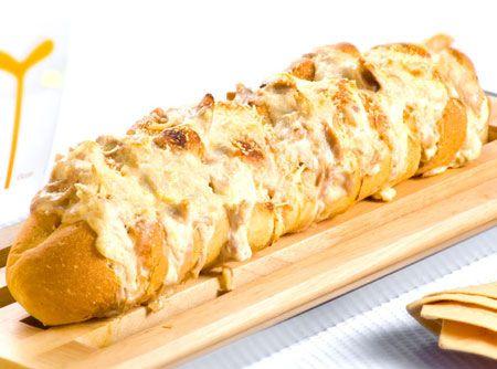 Lanchinho delicioso e gracioso! ;) #sanduiche #lanche #food #carnaval #receita
