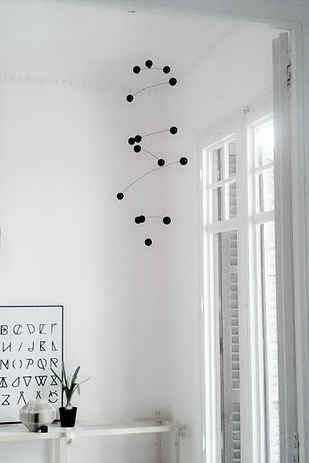 DIY  Eames molbile, mid century modern, budget home decor, nursery, baby, DIY baby shower gifts19 Mid-Century Modern DIYs That Will Save You Tons Of Money