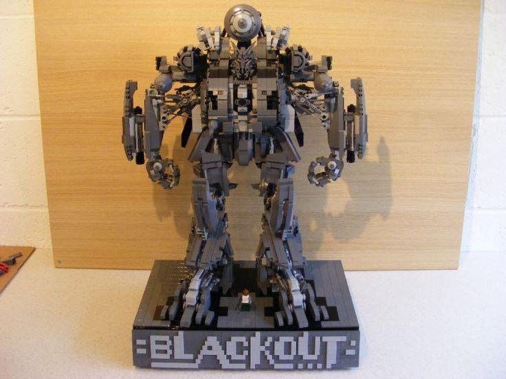 Lego Transformers - Blackout | LEGO