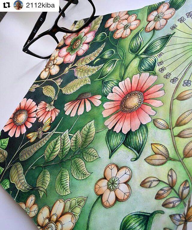 Perfeicao By 2112kiba Jardimsecreto Secretgarden Desenhoscolorir Johannabasford Adult ColoringColouringColoring BooksJohanna Basford