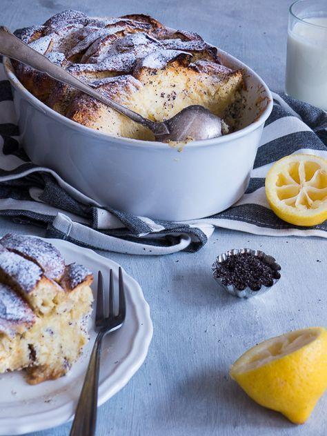Buttermilch, Zitrone & Mohn Brioche French Toast   Meine Küchenschlacht