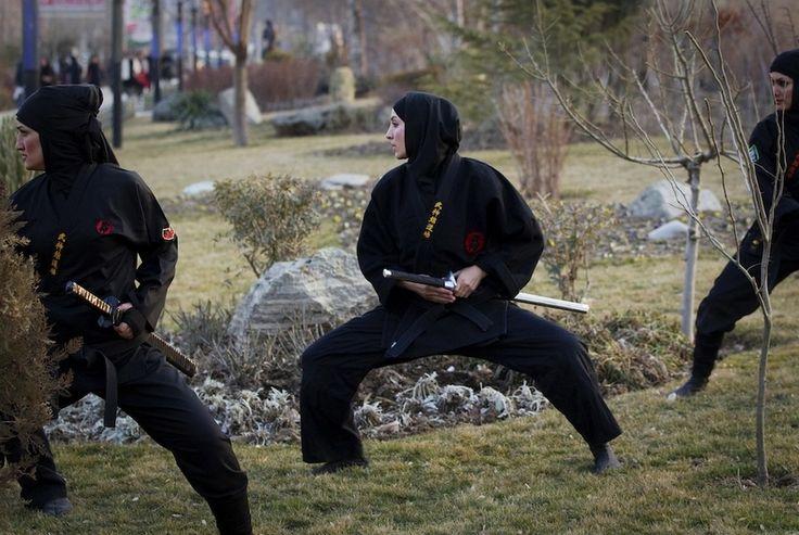 Iranian Ninja women