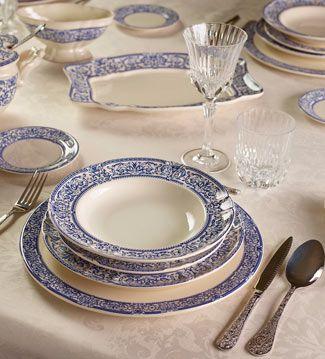 La cartuja de sevilla ventas en westwing porcelana for Marcas de vajillas de porcelana