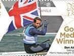Gold medal stamps