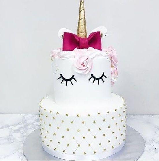 120 Best Bolos Unicrnio Images On Pinterest Unicorn Cakes Conch