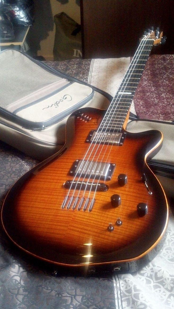 Godin LGX-SA Guitar Cognac Burst 2013 (Great Used Condition)