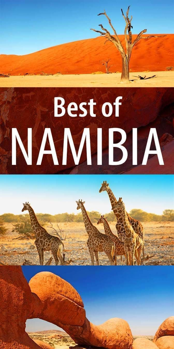 Best places to see in Namibia. 13 fascinating locations, from the most famous tourist attractions to the hidden gems. Find out!