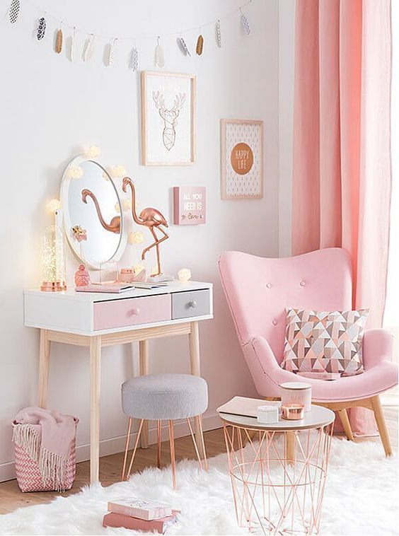 Pink Room Decorating Ideas best 20+ pink bedroom decor ideas on pinterest   pink gold bedroom