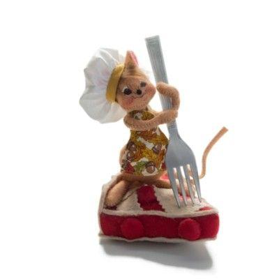 "Annalee Cherry Pie Mouse 2013 - 5"""