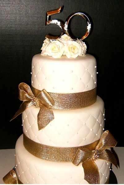31 best images about golden anniversary on pinterest for 50th wedding anniversary cake decoration ideas
