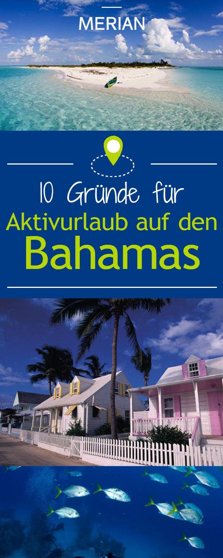 In bunten Strandvillen wohnen, mit Delfinen schwimmen: Auf den 700 Inseln der Bahamas ist jeder Tag ein Traum. Wir nennen Ihnen zehn Gründe, warum sie demnächst auch